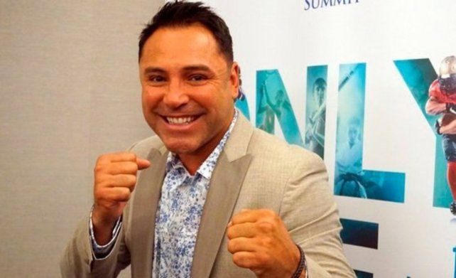 De regreso. De la Hoya es el único boxeador que ganó títulos mundiales en seis categorías diferentes.