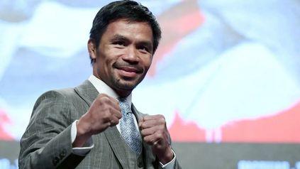 Manny Pacquiao es una figura muy popular en Filipinas.