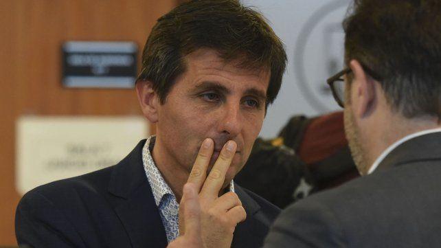 El fiscal Luis Schiappa Pietra expuso este jueves ante los senadores provinciales santafesinos.