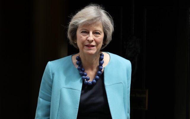 La primera ministra británica ratificó el derecho de autodeterminación de los kelpers