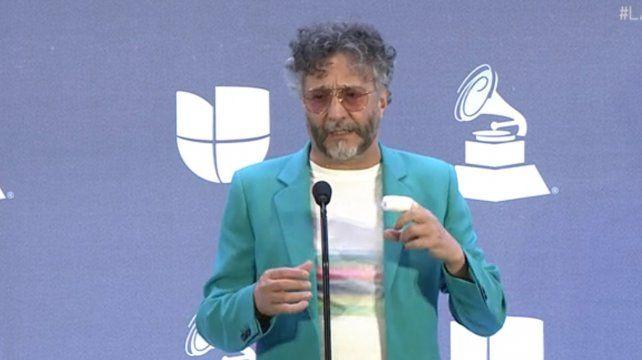 Fito, Ricky Martin y Beto Cuevas homenajearon a Soda Stereo en los Latin Grammy
