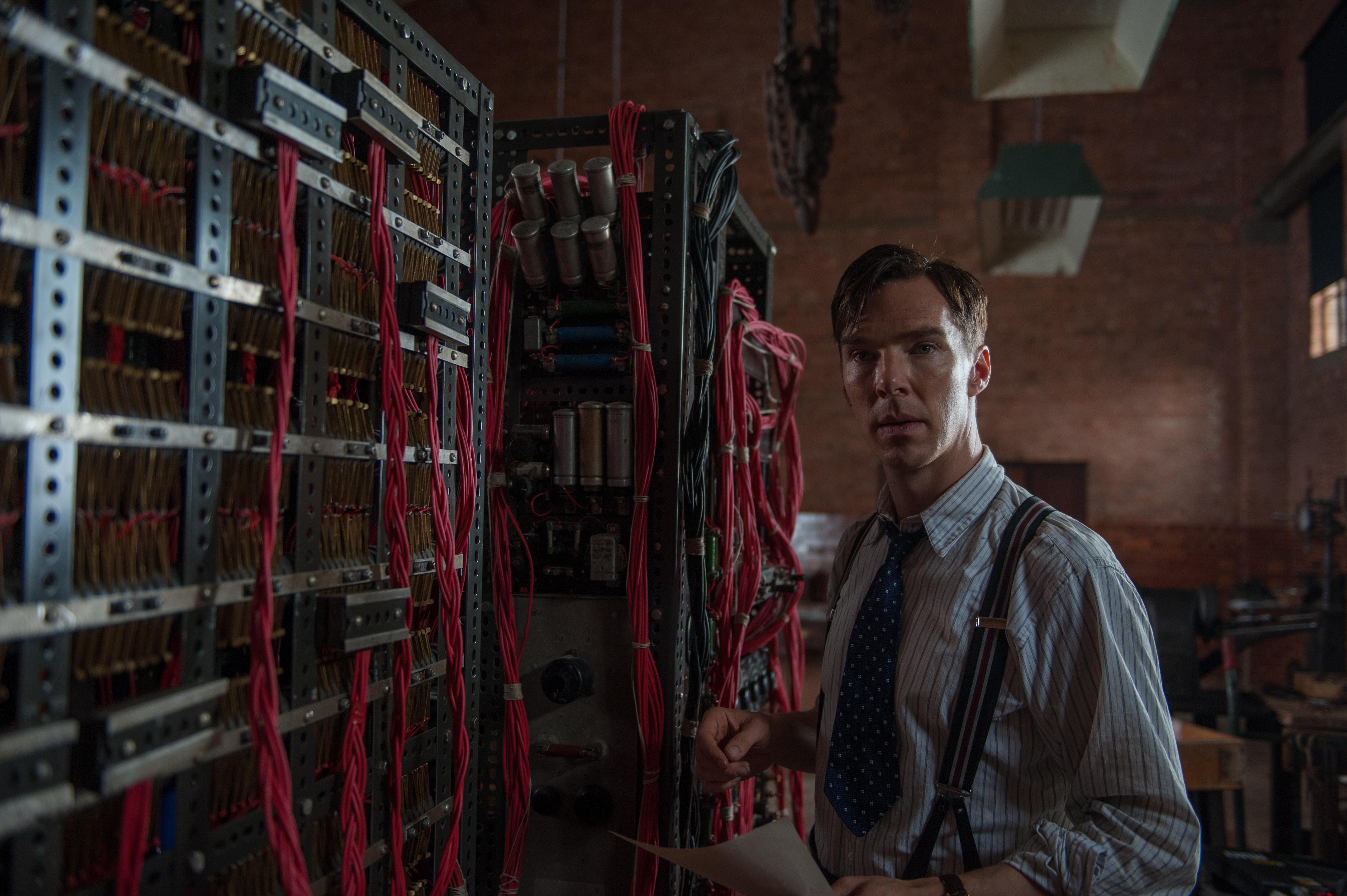 Alan Turing es interpretado por el británico Benedict Cumberbatch