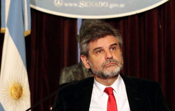 Receptividad. El senador Daniel Filmus destacó la importancia de los encuentros que se desarrollaron en Londres.