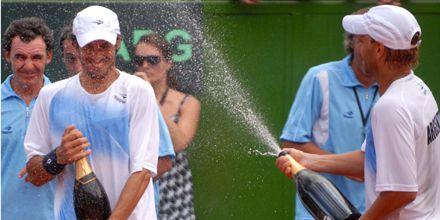 Arnold y Vasallo Argüello ganaron el dobles y Argentina pasó a cuartos de final de la Davis