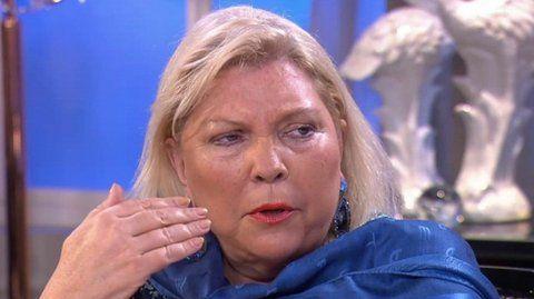 Elisa Carrió dice que hace esfuerzo por unir a Juntos por el Cambio pero que no da abasto.