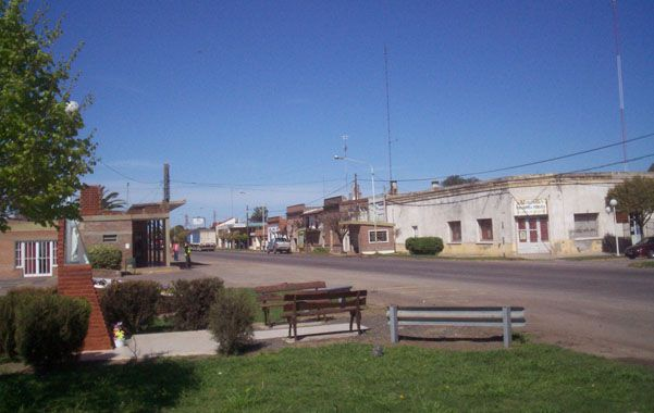 A 100 kilómetros de Rosario. En la localidad de Villada