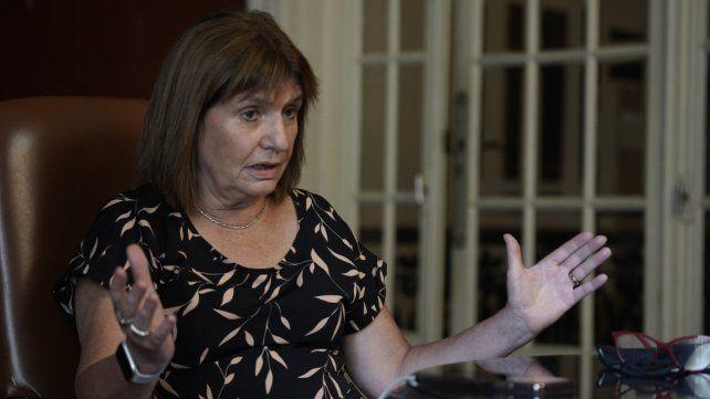 La ex ministra de Seguridad durante el macrismo y actual presidenta del PRO