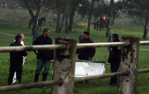 El cuerpo de Melina fue hallado dentro de una bolsa en un terreno de José León Suárez de la Ceamse.