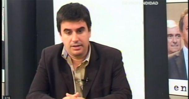 Toniolli habló en el piso de En Profundidad.