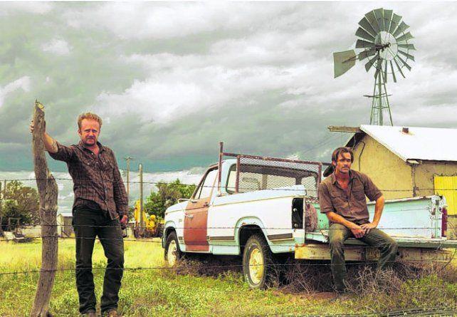 Pelea. Toby Howard y Chris Pine