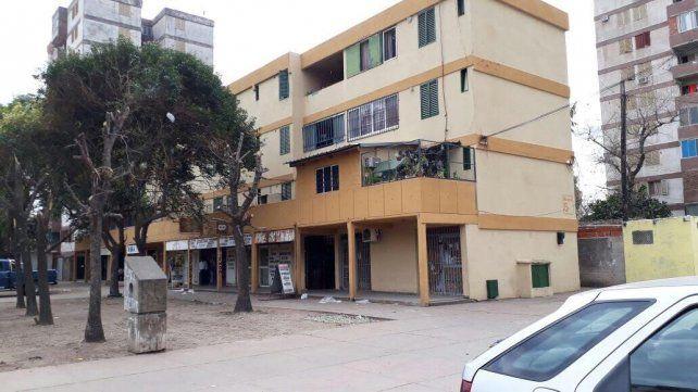 El barrio Fonavi donde anoche ocurrió el ataque.
