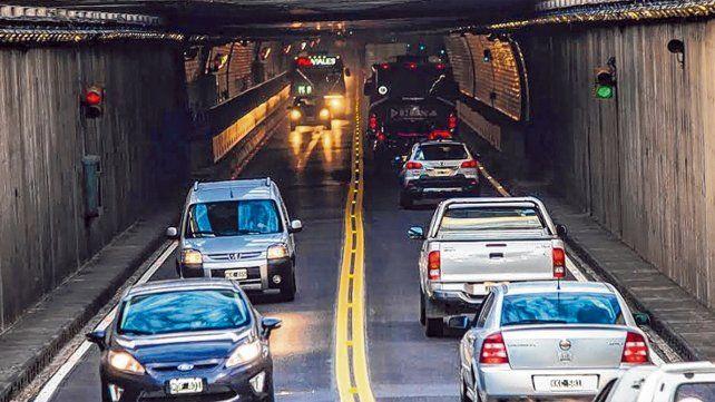 El túnel subfluvial