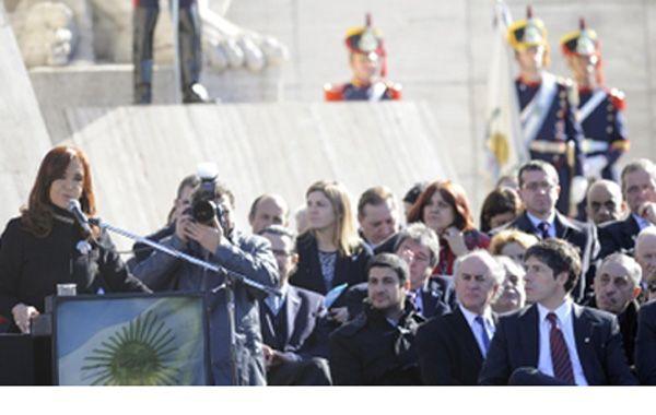 """La presidenta volvió a privilegiar al """"cristinismo"""" a la hora del reparto legislativo. (Foto: F.Guillén)"""