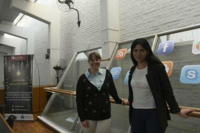 Evangelina Vives y Noelia Navoni