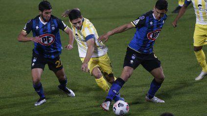 Central y Huachipato jugaron el 5 de mayo en Chile. Fue empate.