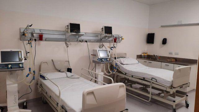 El Hospital Iturasspe suma siete camas UTI