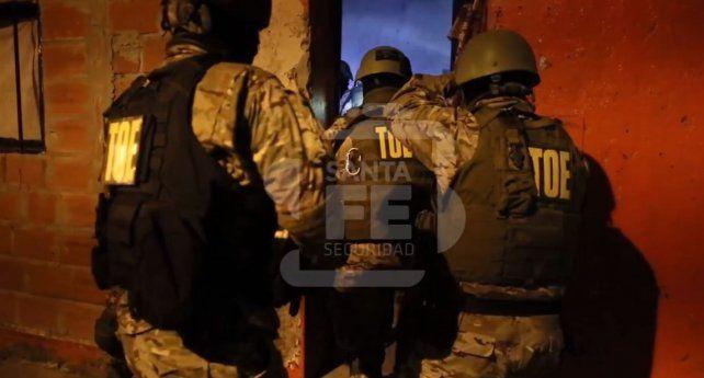 La TOE y la PDI participaron de los operativos en la región.