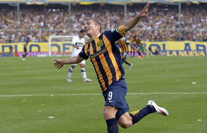 Ruben cerró un gran año como delantero de Rosario Central.