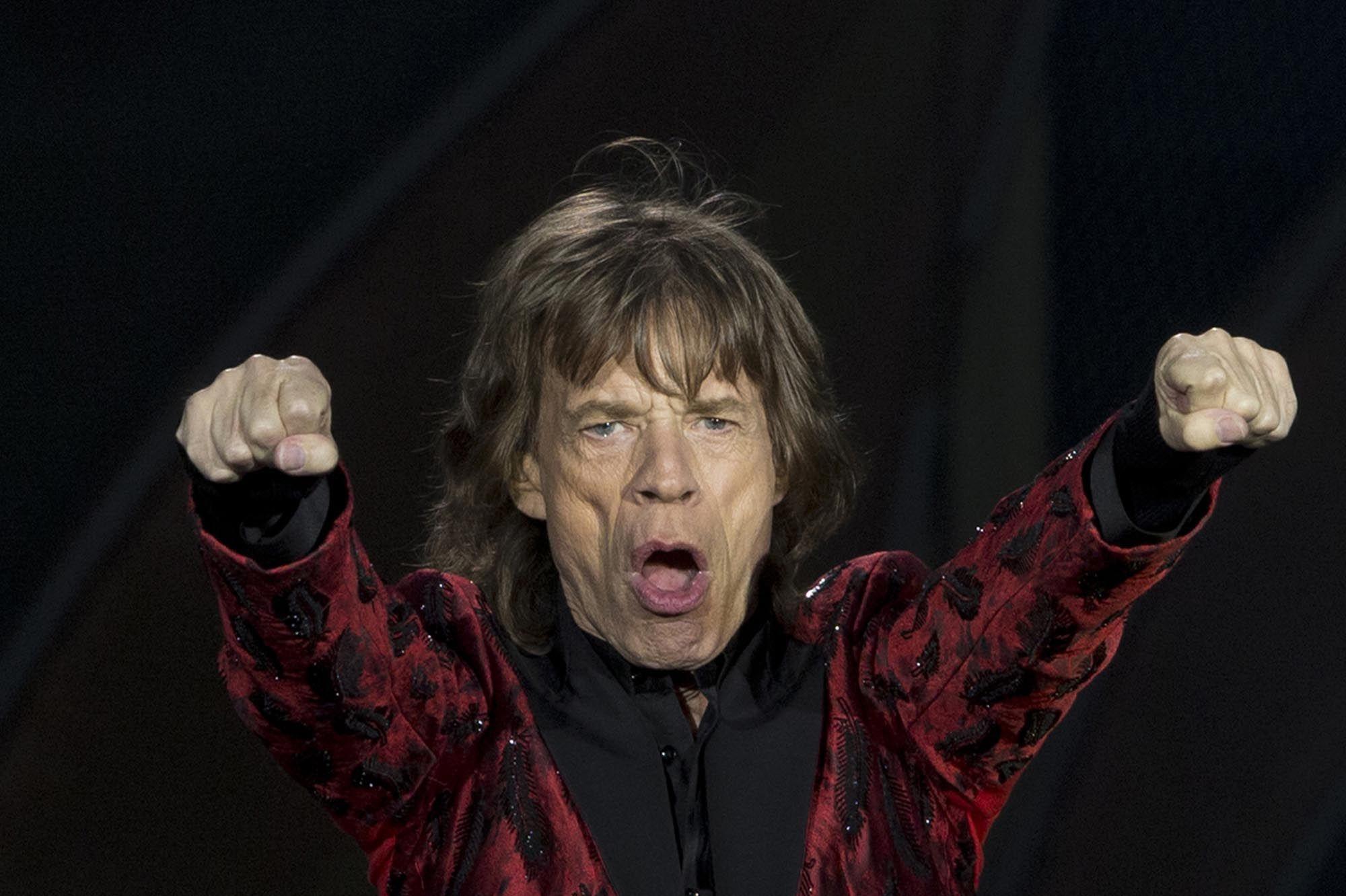 Jagger dios las buenas nuevas en la capital cubana.