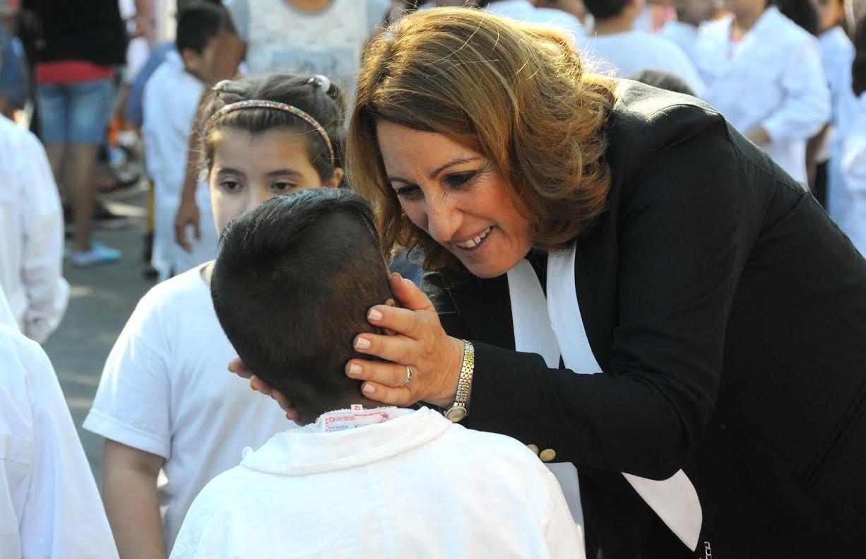 Fein participó de la firma del convenio para ampliar el acceso a la educación obligatoria para niños de 4 años.