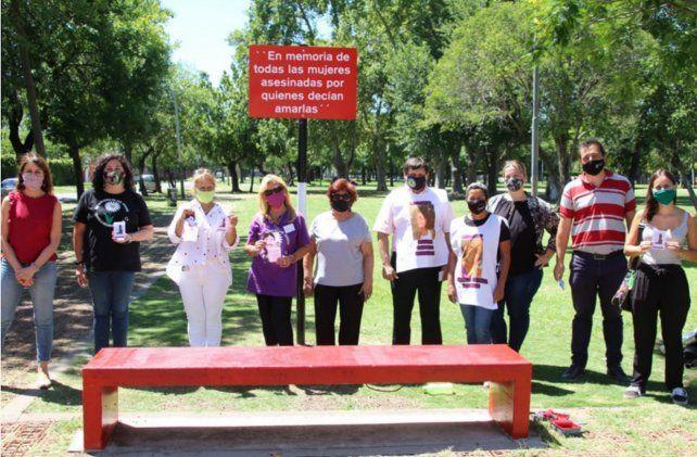 El primer banco rojo de Distrito Sur se colocó en febrero de este año en Virasoro y Buenos Aires.