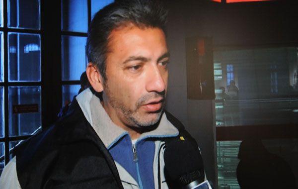El subcomisario Gustavo Serna llegó a Rosario en mayo pasado. Ayer fue alejado de su cargo.