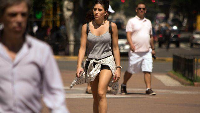 La ciudad de Buenos Aires batió récord de calor
