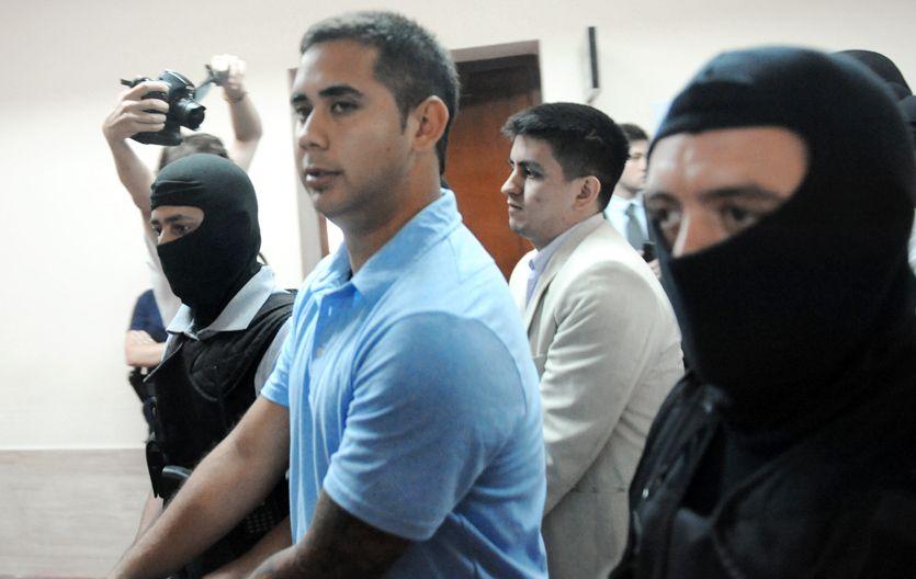 """Daniel """"Teletubi"""" Delgado fue ayer centro de la escena por la declaración de su ex pareja. (Foto: S. Suárez Meccia)"""