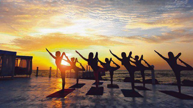 Vida sana. Por toda la ciudad hay lugares fitness