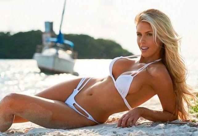 La bella mujer por la que habría mentido el nadador Ryan Lochte en la madrugada loca de Río