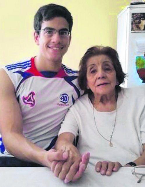 marido y mujer. Mauricio Ossola