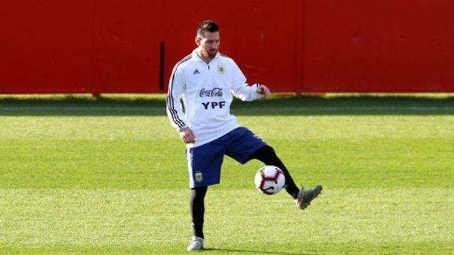 Romance eterno. Messi y la pelota