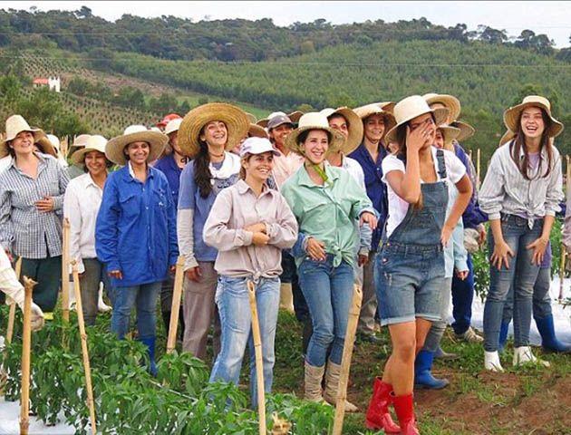 Las mujeres de Noiva son mayoría.