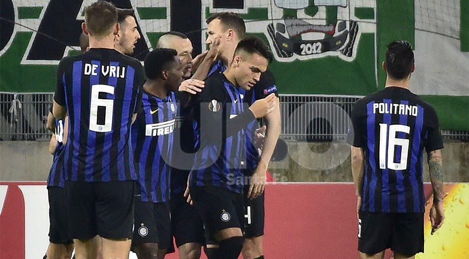 Inter forward Lautaro Martinez