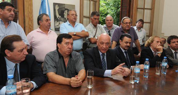 Bonfatti destacó el encuentro con la CGT Rosario como una fuerte señal de diálogo