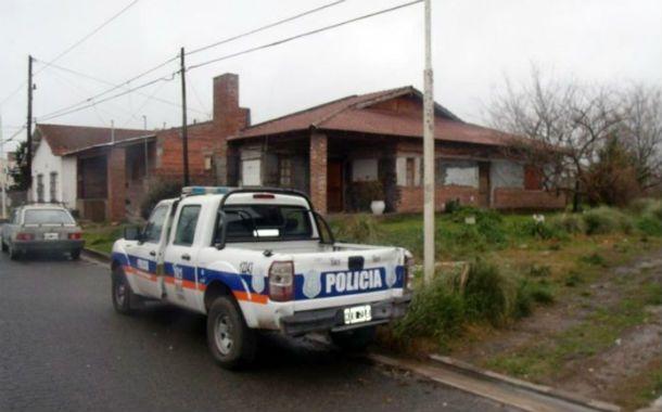 Juego macabro. La casa donde ocurrió la tragedia.