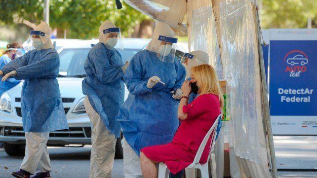 A través del Plan Detectar siguen los testeos en los barrios y ya se visitaron 572 familias