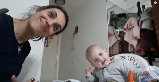 Angelina y su mamá