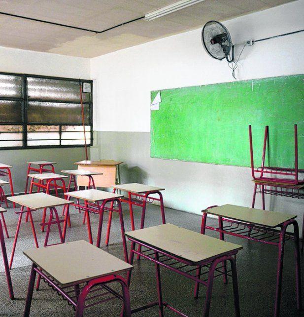 aulas vacías. El año pasado ya se habían ahorrado 200 millones de pesos.