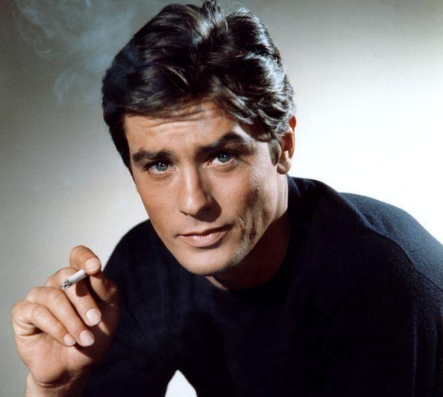 Alain Delon. El actor fue la estrella indiscutida del cine francés en los 60 y 70.