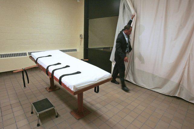 Siniestro. La sala de la inyección letal en Hunstville