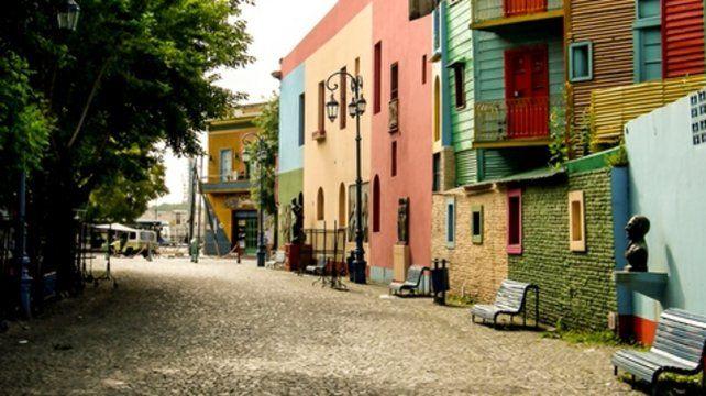 Un ícono de Buenos Aires en el viejo barrio de La Boca.