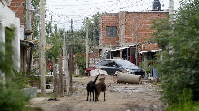 La zona de San Cayetano al 1500 bis
