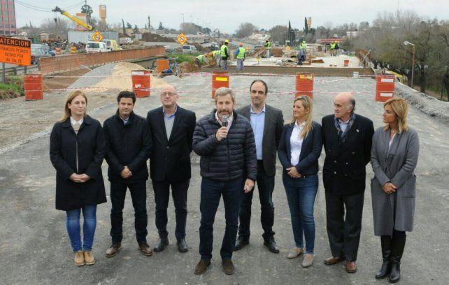 Frigerio:  En Rosario hay muchos problemas y empezamos a solucionarlos juntos