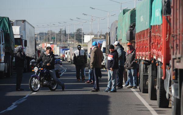Piquetes y camiones parados no fueron determinantes.