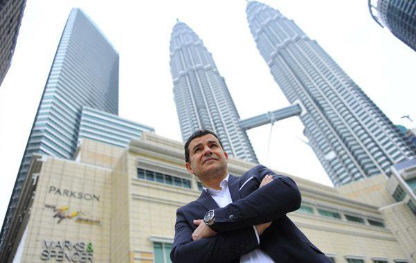 Galuccio firmó ayer en Kuala Lumpur