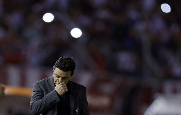 Gallardo sufrió el partido pero después aseguró: Siempre confiamos en lo nuestro.