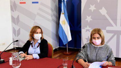 Sonia Martorano. La ministra de Salud de la provincia participó del acto de firma del convenio con respresentantes de Salud de la Nación.