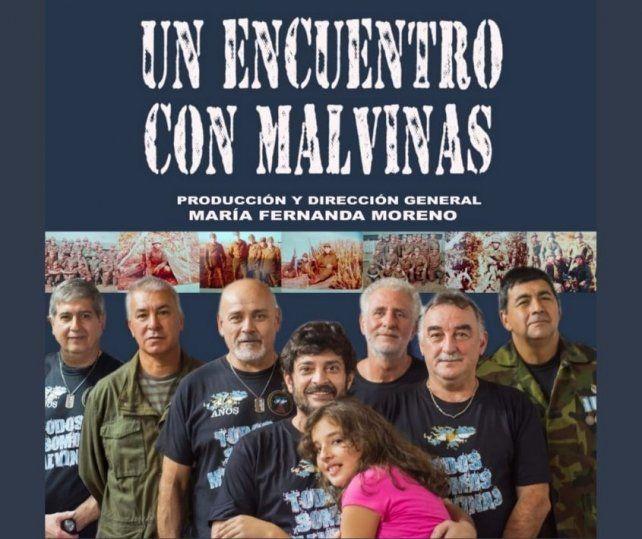 El documental Un encuentro con Malvinas , en dos funciones solidarias