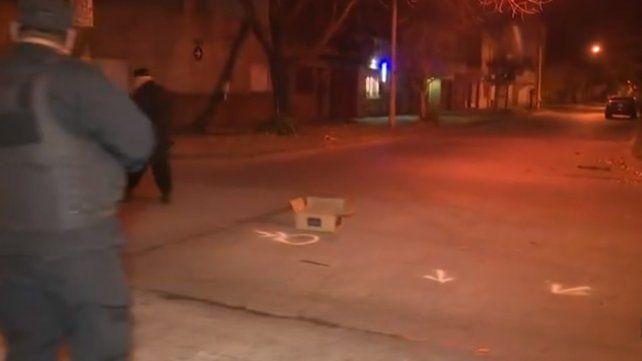Un recolector de residuos quedó en medio de una balacera y fue herido